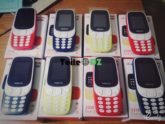 Tel nokia 3310 jded Double puce Carte memoire Appareil photo Batterie Charjeur 1600da gros 2000da