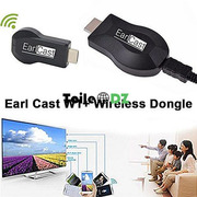 Earldom EarlCast W1 Dongle TV sans fil 2Core Full HD 1080P Noir