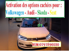 Activation options cachées polo