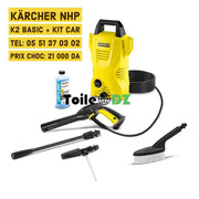KARCHER K2 BASIC KIT CAR BROSSE CANON A MOUSSE