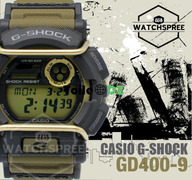 PROMOTION CASIO G-SHOCK GD-400-COLLECTION 2018 2019 PRIX SOLDÉ