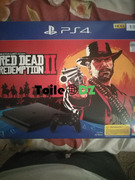 Ps4 Slim pack Red Dead Redemption