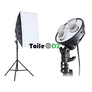 SoftBox 4 Lampe 50x70 Professionnel