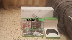 Xbox One S 500 Go deux manettes jeux cd PES 2019, Forza 6, Fifa 18, NBA 2K18