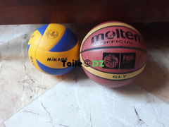 Baloon de volleyball et basket