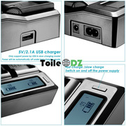 Chargeur double Sony L