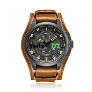 CURREN MONTRE ORIGINAL CUIR DOS DETACHABLE SANS