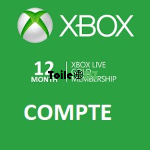 Promotion Xbox live gold 12 mois
