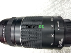 Objectif Canon ef 75-300mm