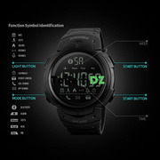 Smart watch original de luxe de marque skmei water